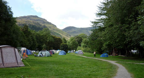 Great Langdale National Trust Campsite